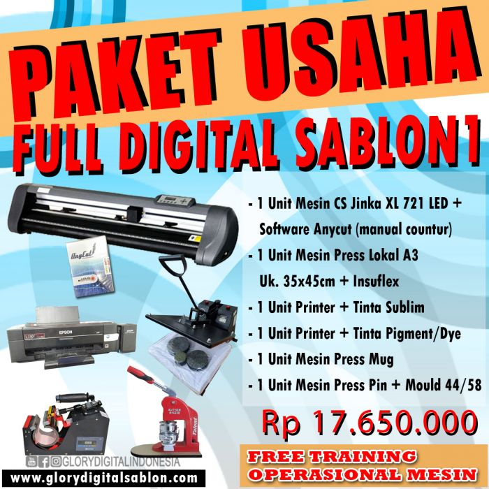 FULL PAKET DIGITAL SABLON 1